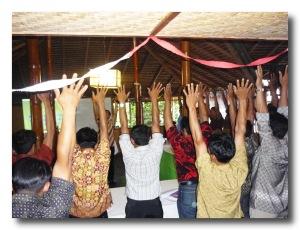 Kepala Desa ke Kab Enrekang Ikut Pendidikan di Bumiputera Toraja -2011