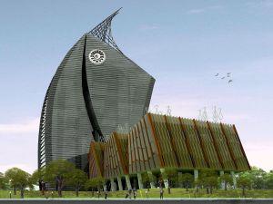Menara Phinisi UNM Makassar