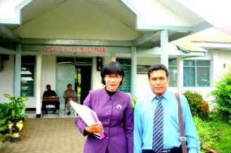 Sumarni & Sangkuriang di SMA 10 Mks