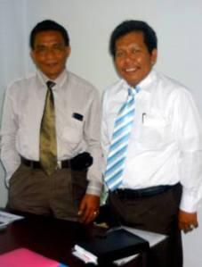 Samiun & Ir.Syarifuddin M ( PR.II Univ.Islam Makassar )