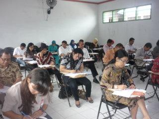 Ujian Unit Link di Pare Pare 14 Juni 2013