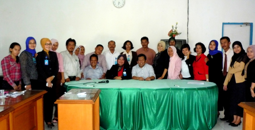 Usai  menerima Sosialisasi - Mitra Kerja KTR Cabang Palopo.